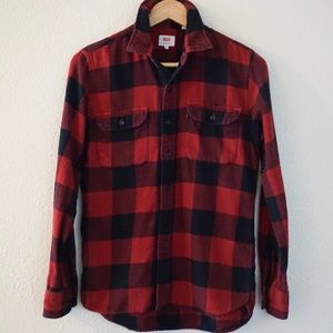 Levi's Plaid Button Down
